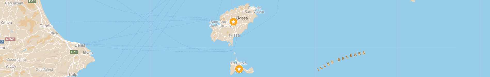 Itinerario vacanza in barca a vela a Ibiza e Formentera - Baleari