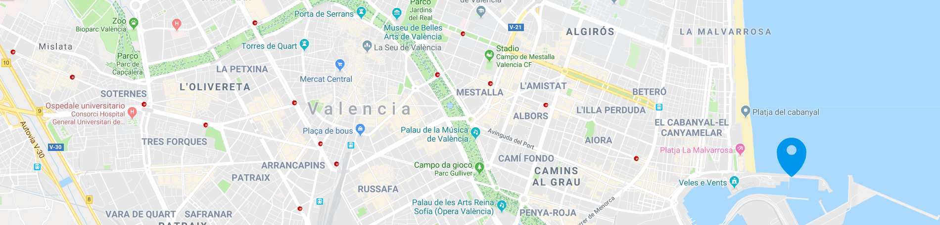 map-boat-and-breakfast-valencia